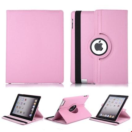 iPad Mini 2 3 Kılıf Standlı iPad Modeli: iPad Mini 1-2-3Renk: Pembe