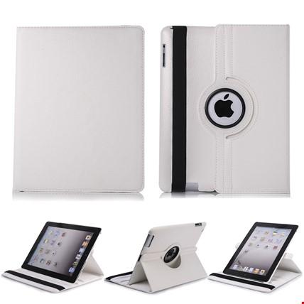 iPad Mini 2 3 Kılıf Standlı iPad Modeli: iPad Mini 1-2-3Renk: Beyaz