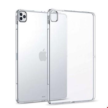 iPad Pro 12.9 2020 Silikon TPU Şeffaf Kılıf