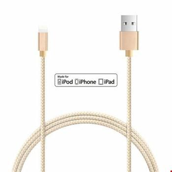 iPhone 5s SE 6 6S 7 8 X Plus Kopmaz Bozulmaz Kablo 1 Metre