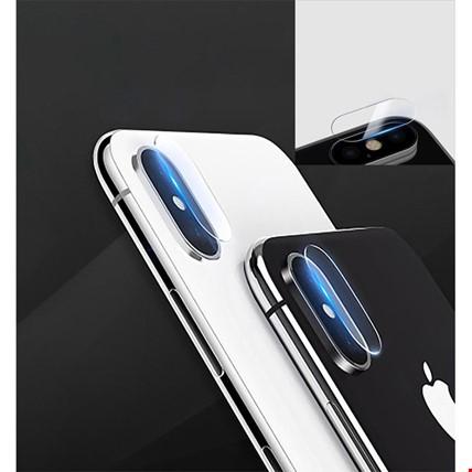 iPhone 7 8 Plus X Xr Xs Max Kamera Lensi Koruma Camı Şeffaf