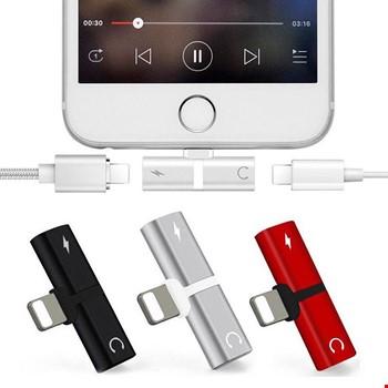 iPhone 7 8 Plus X Xr Xs 11 12 Pro Max Kulaklık Şarj Giriş Adaptör