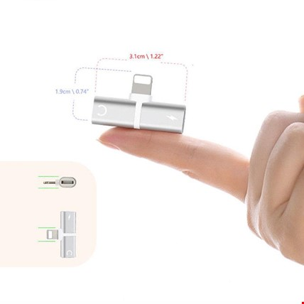 iPhone 7 8 Plus X Xr Xs Max Kulaklık Şarj Giriş Adaptör Çoklayıcı