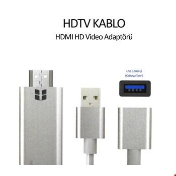 iPhone Android 1080P Görüntü Aktarım Hdtv Hdmi Kablosu