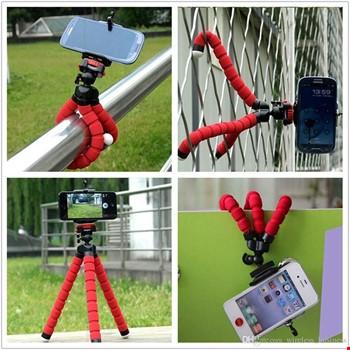 Ahtapot Selfie Mini Tripod Esnek Portatif Akrobatik Stand Çubuğu