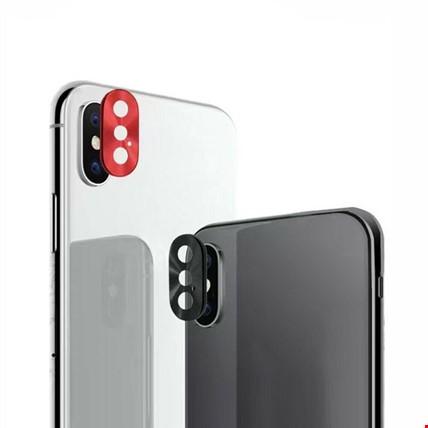iPhone XS Kamera Lensi Koruma Koruyucu Halkası Metal