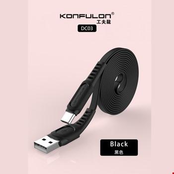 Konfulon DC03 Samsung Huawei Mi Type-C 2.4A Hızlı Şarj Kablosu