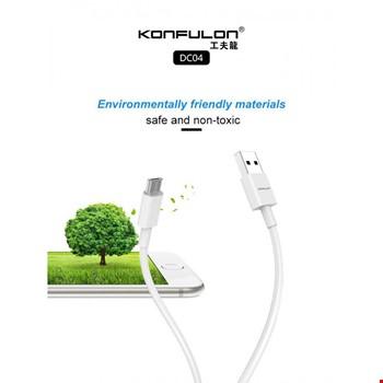 Konfulon DC04 Samsung Huawei Xiaomi Micro Usb 2.4A Şarj Kablosu