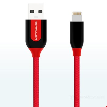 Konfulon S51 iPhone iPad Lightning 3A Hızlı Şarj Kablosu