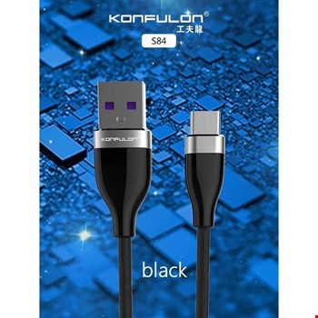 Konfulon S84 Samsung Huawei Xiaomi Type-C 3.1A Şarj Kablosu