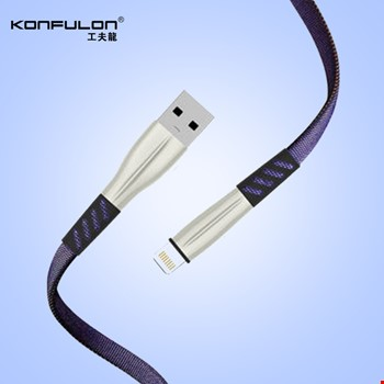 Konfulon S89 iPhone iPad Lightning 2.4A Şarj Kablosu 1Mt