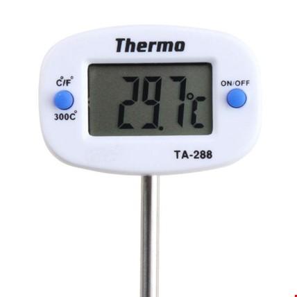 LCD Dijital Mutfak Termometre Probe Gıda Et Barbekü Pişirme