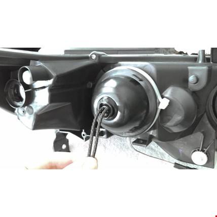Led Xenon Uyumlu Far Arka Kapağı Koruyucu Tüm Araçlar İçin 80mm