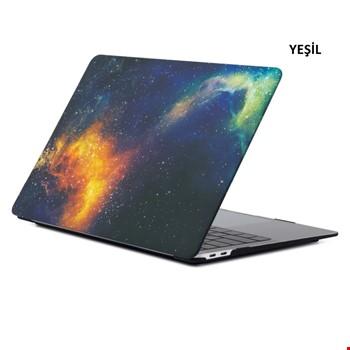 MacBook Air 13 A1932 2018 A2179 2020 Space Desenli Kılıf Kapak