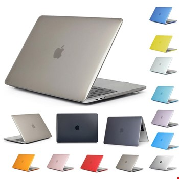 MacBook Air 13 A1932 2018 A2179 2020 Kristal Şeffaf Kılıf Kapak