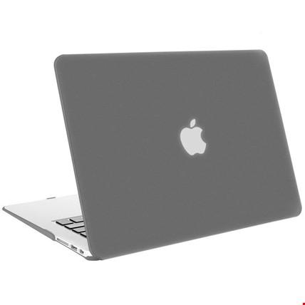 MacBook Air 13 13.3 A1466 Kılıf Rubber Tam Koruma Kapak Renk: Füme