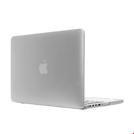 MacBook Air 13 13.3 A1466 Kılıf Rubber Tam Koruma Kapak Renk: Beyaz