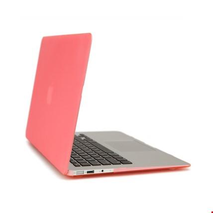 MacBook Air 13 13.3 A1466 Kılıf Rubber Tam Koruma Kapak Renk: Pembe