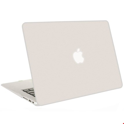 MacBook Air Pro Retina 12 13 15 Rubber Kılıf Kapak - Tüm Modeller Renk: BeyazMacBook Modeli: Pro 13 Retina 2016 (A1706 1708)