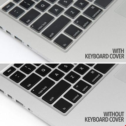 Macbook Pro Retina 15.4 Silikon Klavye Koruyucu TÜRKÇE
