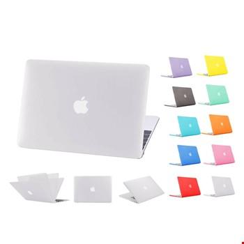 MacBook Air 13 A1932 2018 A2179 2020 Kılıf Rubber Tam Koruma Kapak