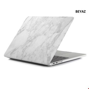 MacBook Air M1 A2337 2020 2021 Mermer Desenli Kılıf Kapak