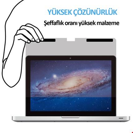 Macbook Air New Pro Retina 13 15 Privacy Anti-Spy Ekran Koruyucu