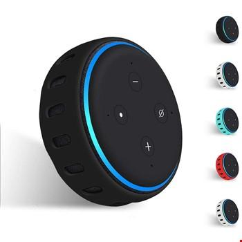 Amazon Echo Dot 3. Nesil Akıllı Hoparlör Silikon Kılıf Koruma Kabı