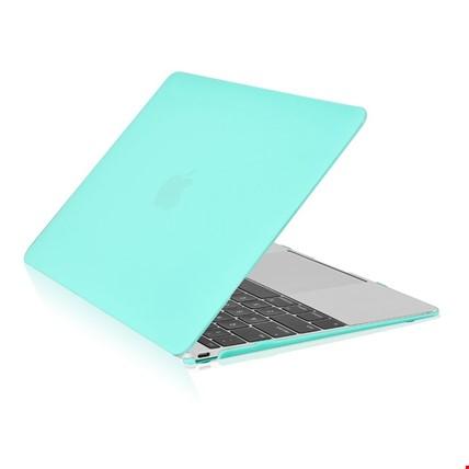 Macbook Pro 13 2018 Model A1989 Kılıf Rubber Kapak Sert Kılıf Renk: Yeşil