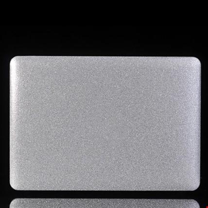 Macbook Retina 15 A1398 Simli Kılıf Koruma Renk: Gümüş