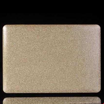 Macbook Retina 15 A1398 Simli Kılıf Koruma Renk: Altın  Dore