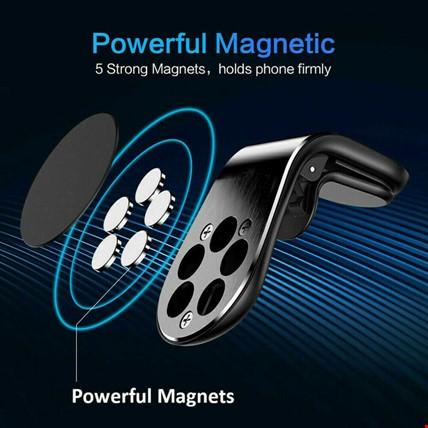 Manyetik Mıknatıslı Havalandırma Araç Telefon Tutucu L Tipi