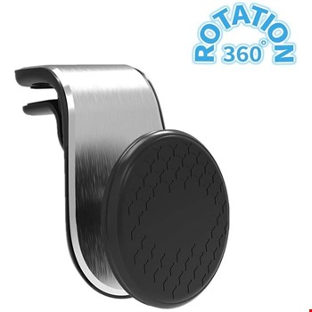 Rotary 360 Mıknatıslı Havalandırma Araç Telefon Tutucu L Tipi
