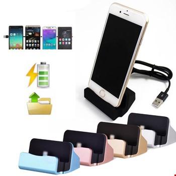 Masaüstü Şarj Aleti Stand Dock iPhone 7 8 X Xs Xs 11 12 Pro Max