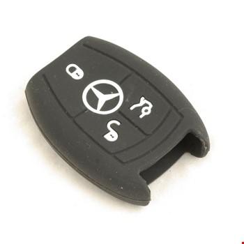 Mercedes A B C E Serisi Silikon Anahtar Kılıfı Koruyucu