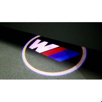 BMW M Kapı Altı Led Logo Aydınlatma 3D Ghost Shadow