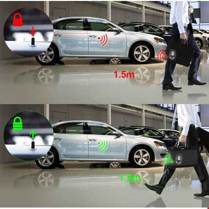 Araç Oto Anahtarsız Çalıştırma Anahtarsız Giriş Sistemi Kumandalı