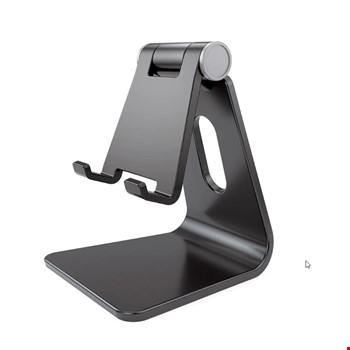 Plastik Telefon Tablet Stand Masaüstü Ayarlanabilir Dock Standı