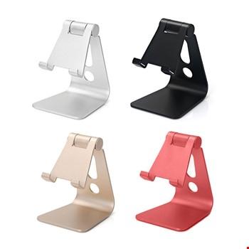 Metal Telefon Tablet Stand Masaüstü Ayarlanabilir Dock Standı