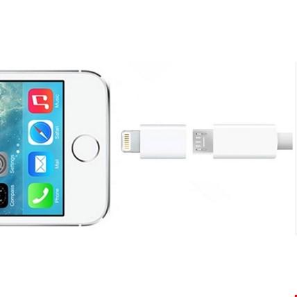 Micro Usb Den iPhone Lİghtning Çevirici Adaptör 2 Adet