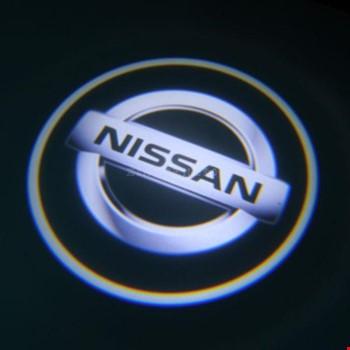 Nissan Kapı Altı Led Logo Aydınlatma 3D Ghost Shadow
