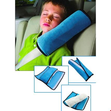 Emniyet Kemeri Tutucu Seyahat Çocuk Uyku Pedi Yastık Yastığı Renk: Mavi
