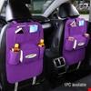 Araba Koltuk Arkası Organizer Ceplik Araç Eşya Düzenleyici Cep Renk: Mor