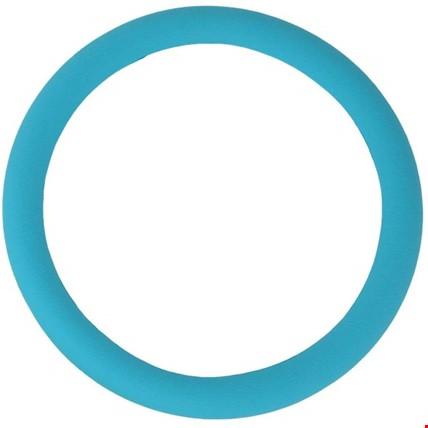 Araç Araba Renkli Direksiyon Silikon Kılıfı Kaydırmaz Renk: Mavi Açık