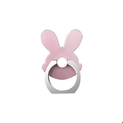 Tavşan i Ring Telefon Halkası Yüzük Stand Selfie Yüzüğü 2 Adet Renk: Bronz