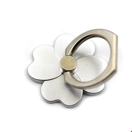 Çiçek  i Ring Telefon Halkası Yüzük Stand Selfie Yüzüğü 2 Adet Renk: Gri