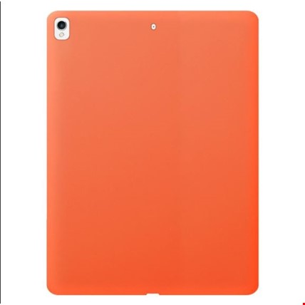 iPad 7. Nesil 10.2 Silikon Kılıf + Kalem Renk: Turuncu