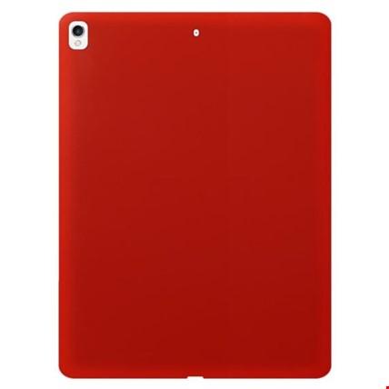 iPad 7. Nesil 10.2 Silikon Kılıf + Kalem Renk: Kırmızı