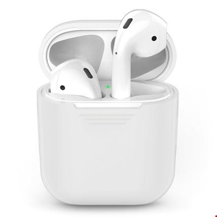 iPhone 7 8 Plus X Airpods Bluetoth Kulaklık Silikon Kılıf Renk: Renksiz