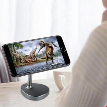 Manyetik Mıknatıslı Masaüstü Stand Tüm Telefonlar İçin Tutucu Renk: Siyah